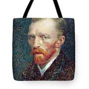 Self Portrait Vincent Van Gogh Tote Bag