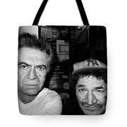 Self Portrait With Friend   Tote Bag