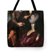 Self Portrait With Isabella Brandt, His First Wife, In The Honey Tote Bag