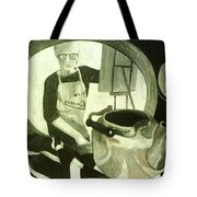 Self Portrait With Still Life Tote Bag