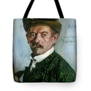 Self Portrait With Tyrolean Hat Tote Bag