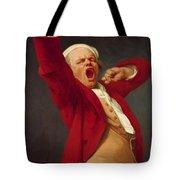 Self Portrait Yawning 1783 Tote Bag