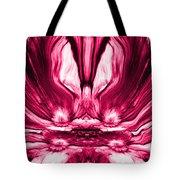 Self Reflection - Pink Tote Bag