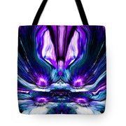 Self Reflection - Purple Blue Tote Bag