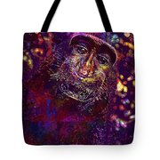 Selfie Monkey Self Portrait  Tote Bag
