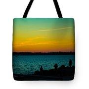 Selfie Sunset Tote Bag