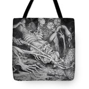 Selfpropelled Beastie Seeder Tote Bag