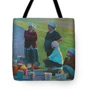 Sellers Of Apples Tote Bag