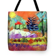 Sellersville Sunset Tote Bag