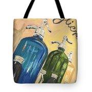 Seltzer Bottles Tote Bag