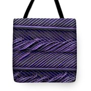 Sem Of Common Grackle Feather Tote Bag