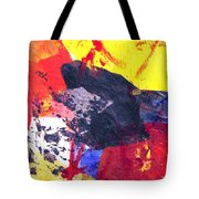 Semi-abstract Collage Tote Bag