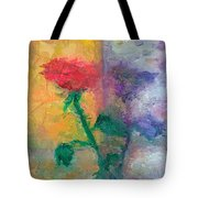 Semi Abstract Flowers#1 Tote Bag