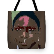 Seminole Warrior Work Number Two Tote Bag