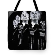 Senator Gene Mccarthy  Miami Beach Florida 1972 Collage Created In  2013 Tote Bag