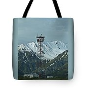Sending Voices Across The Land Tote Bag