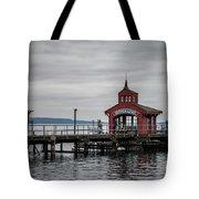 Seneca Lake Pier Tote Bag