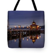 Seneca Lake Reflection Tote Bag