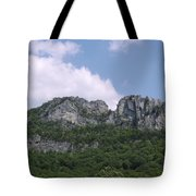 Seneca Rocks Tote Bag