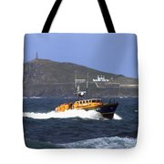 Sennen Cove Lifeboat Tote Bag