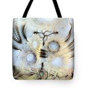 Sensorial Paroxysm Tote Bag by Casey Kotas