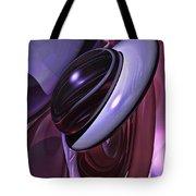 Sensual Healing Abstract Tote Bag