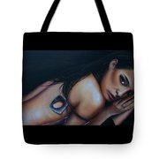 Sensual, Nude Portrait Art Tote Bag