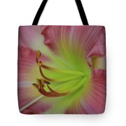 Sensual Pink Lilly Tote Bag