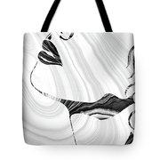 Sensual Portrait Art - Marbled Seduction - Sharon Cummings Tote Bag