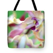 Sensual Touch Of Exotic II. Orchid II Tote Bag
