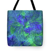 Sentimental Nature Abstract Tote Bag