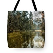Sentinel Bridge And Half Dome In Morning Light Tote Bag