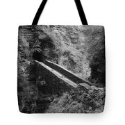 Sentry Bridge At Watkins Glen Tote Bag