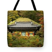 Seokguram Grotto Tote Bag