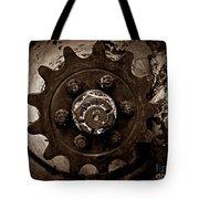 Sepia Gear Tote Bag