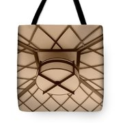 Sepia Lighted Box Tote Bag