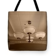 Sepia Lights Tote Bag