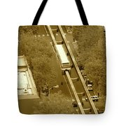 Sepia Seattle Tote Bag
