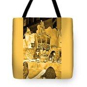 Sepia Toned Glass Slipper Tote Bag