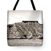 Sepia Tones Nature Landscape Nevada  Tote Bag