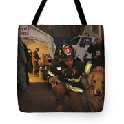 September 11th Rescue Workers Receive Tote Bag