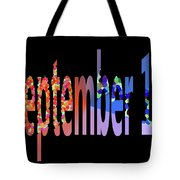 September 17 Tote Bag