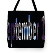 September 18 Tote Bag