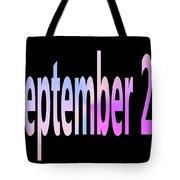 September 22 Tote Bag