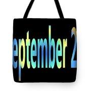 September 23 Tote Bag