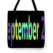 September 27 Tote Bag