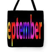 September 4 Tote Bag