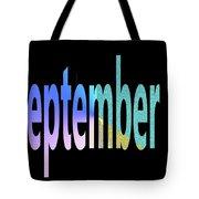 September 8 Tote Bag