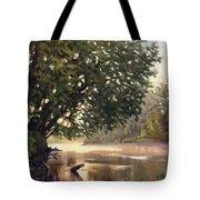 September Dawn Little Sioux River - Plein Air Tote Bag