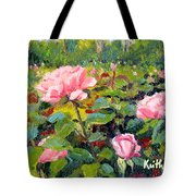 September Roses Tote Bag